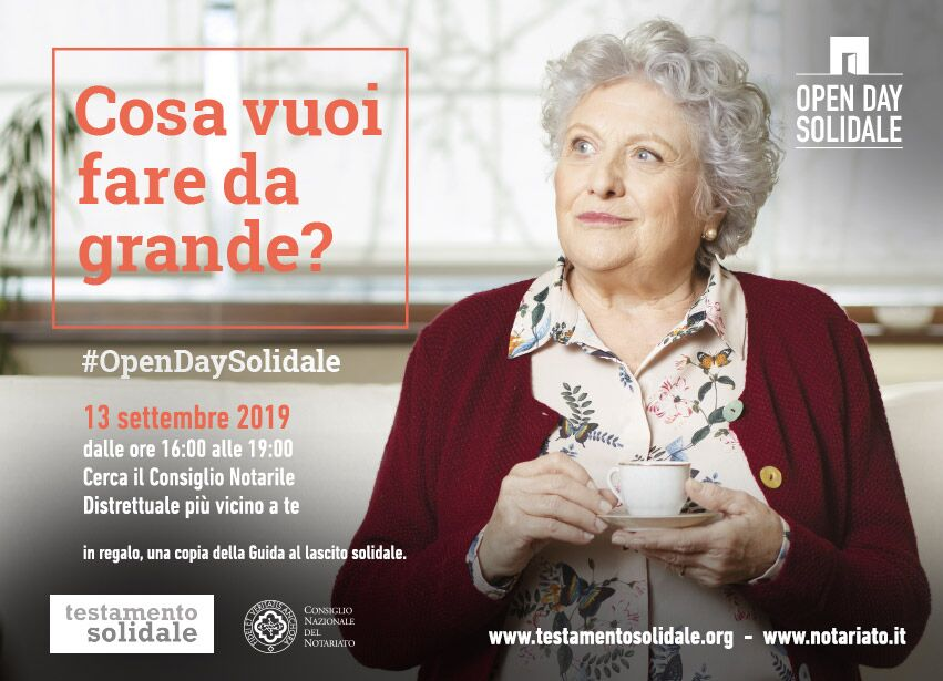 Open Day Lascito Solidale